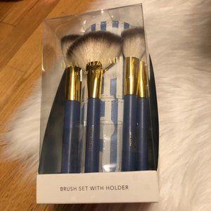 Isaac Mizrahi Brush Set with Holder